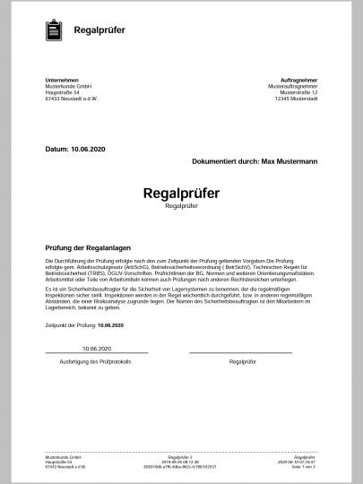 PDF Prüfbericht Deckblatt